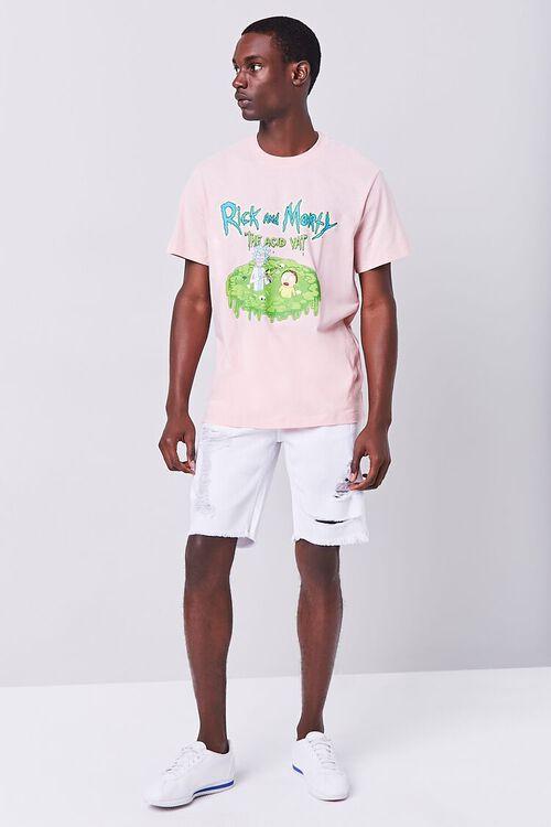 WHITE Distressed Denim Shorts, image 5