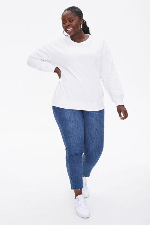 Plus Size Fleece Pullover, image 4