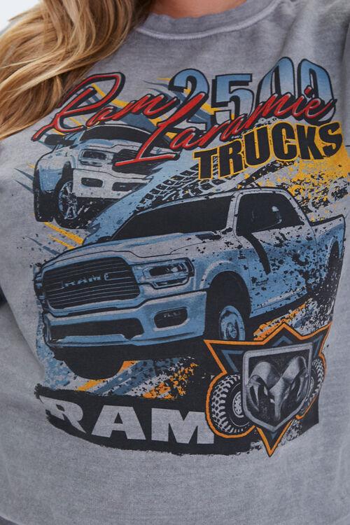 Plus Size Ram Trucks Graphic Sweatshirt, image 5