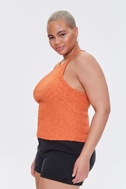 Plus Size Ribbed Slub Knit Cami, image 2