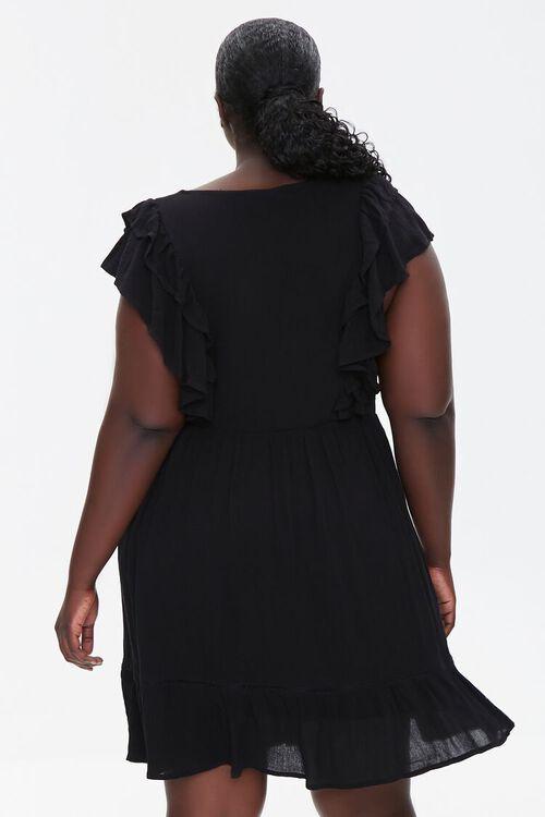 Plus Size Ruffled Mini Dress, image 3