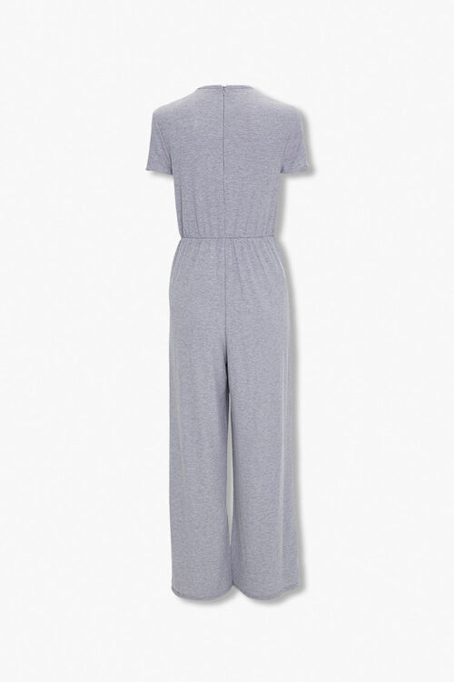 Heathered Wide Leg Jumpsuit, image 3