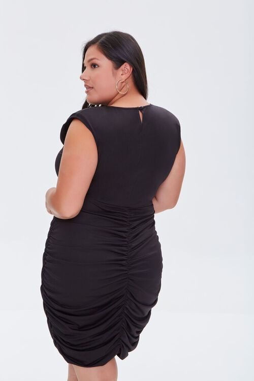 Plus Size Ruched Bodycon Dress, image 3