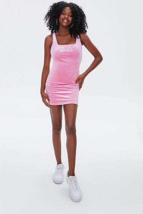 Barbie™ Velvet Mini Dress, image 4