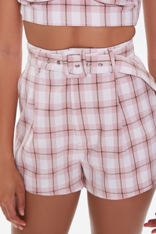 Plaid Sweetheart Cami & Shorts Set, image 5