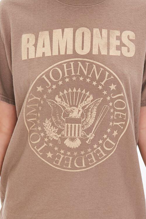 BROWN/MULTI Ramones Graphic Tee, image 5