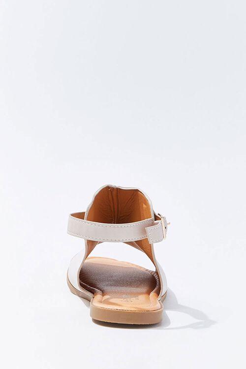Faux Leather Cutout Sandals, image 2