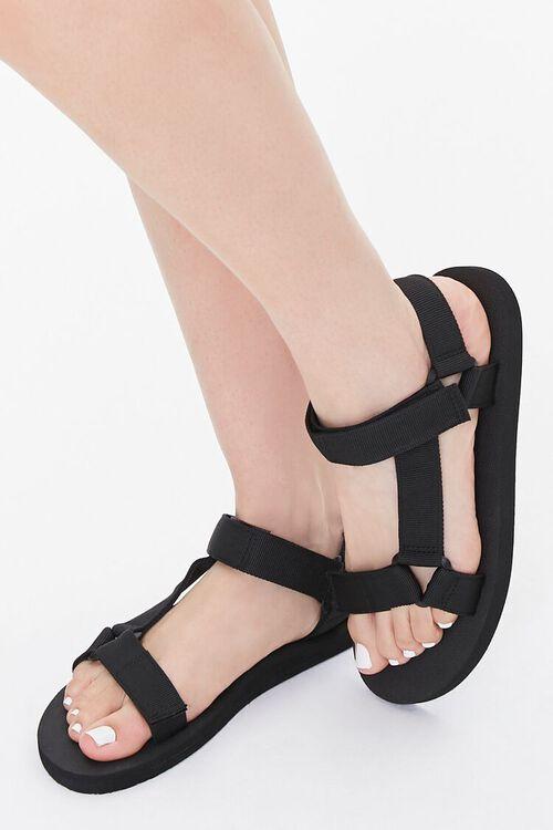 Adjustable Strappy Sandals, image 1