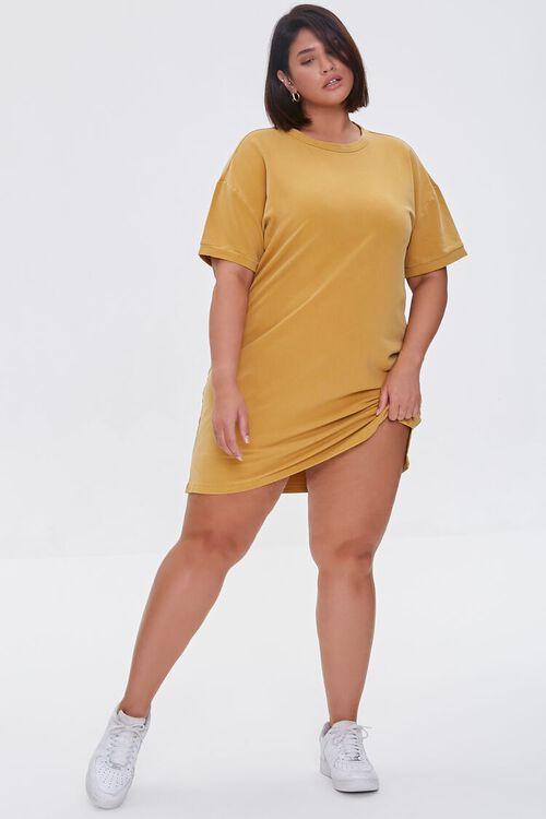 Plus Size Mini T-Shirt Dress, image 4