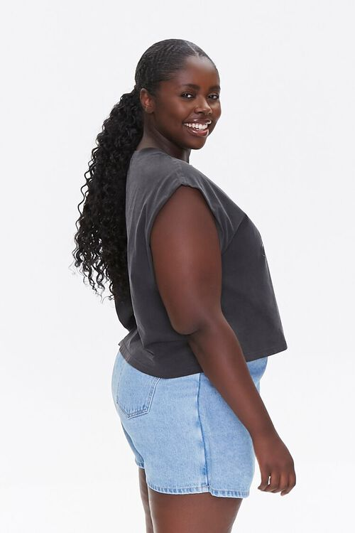 Plus Size Keep Rolling It Muscle Tee, image 2