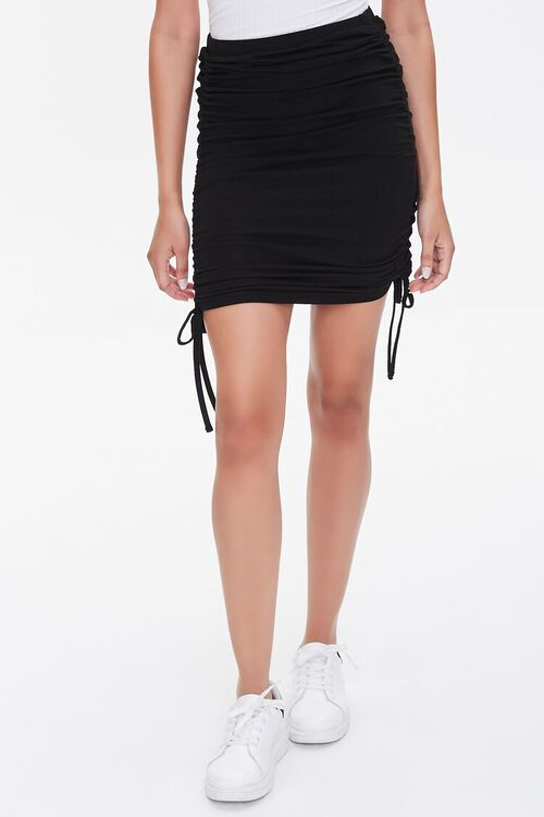 Ruched Bodycon Skirt, image 2