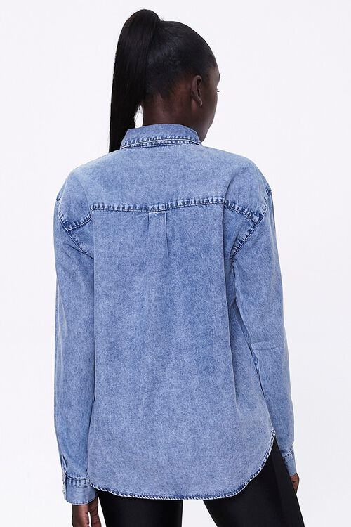 Mineral Wash Denim Shirt, image 3
