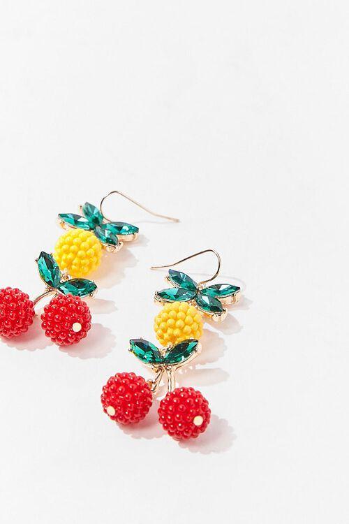 Cherry & Pineapple Drop Earrings, image 3