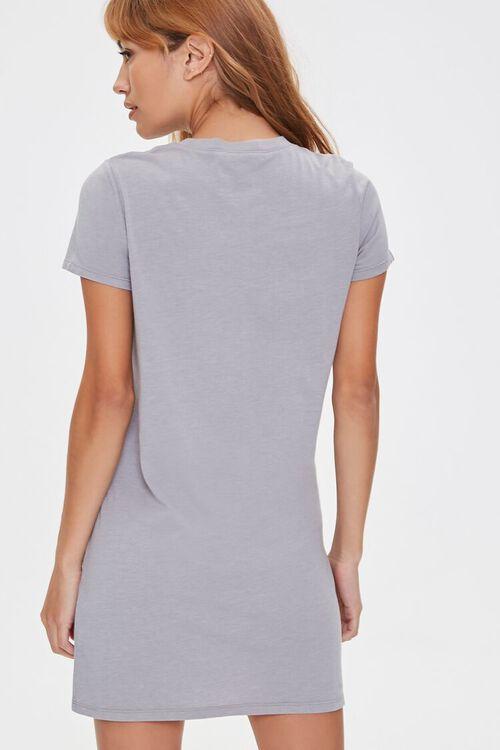 Crew Neck T-Shirt Dress, image 3