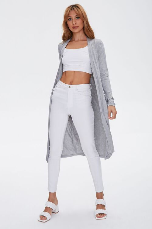 Patch-Pocket Duster Cardigan, image 4