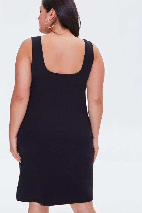 Plus Size Slit Tank Dress, image 3