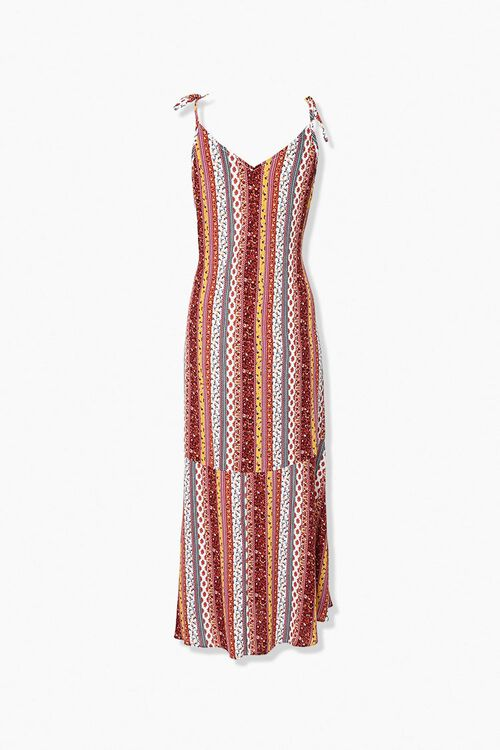 Floral Ruffle Maxi Dress, image 3