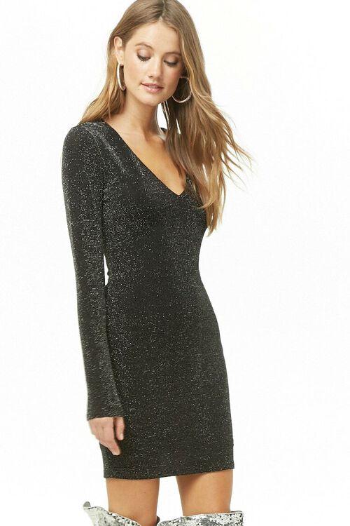 Metallic Knit Dress, image 1