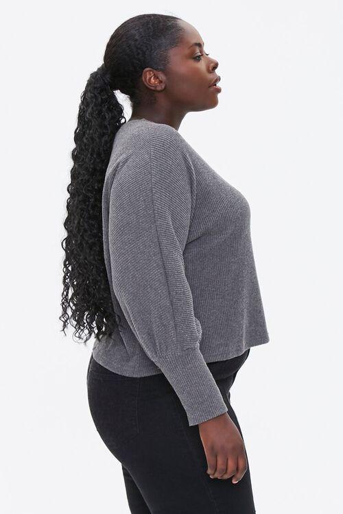 Plus Size V-Neck Sweater, image 2