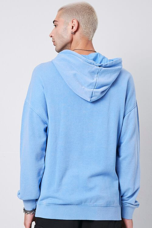 BLUE Kangaroo Pocket Hoodie, image 3