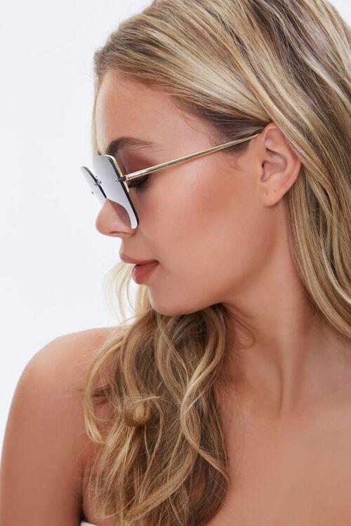 Rimless Tinted Sunglasses, image 2