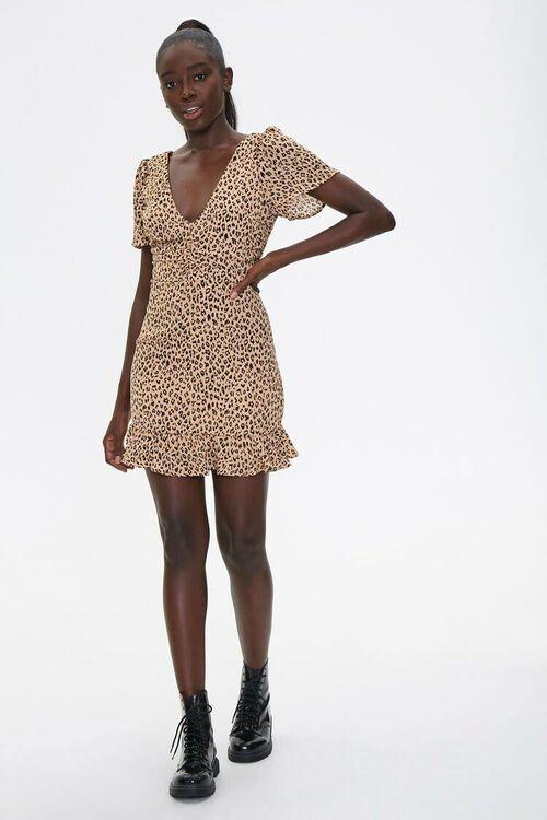 Leopard Print Mini Dress, image 4