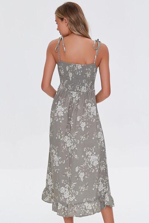 Floral Print Midi Dress, image 3