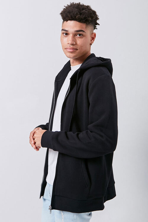 Fleece Zip-Up Hoodie, image 2