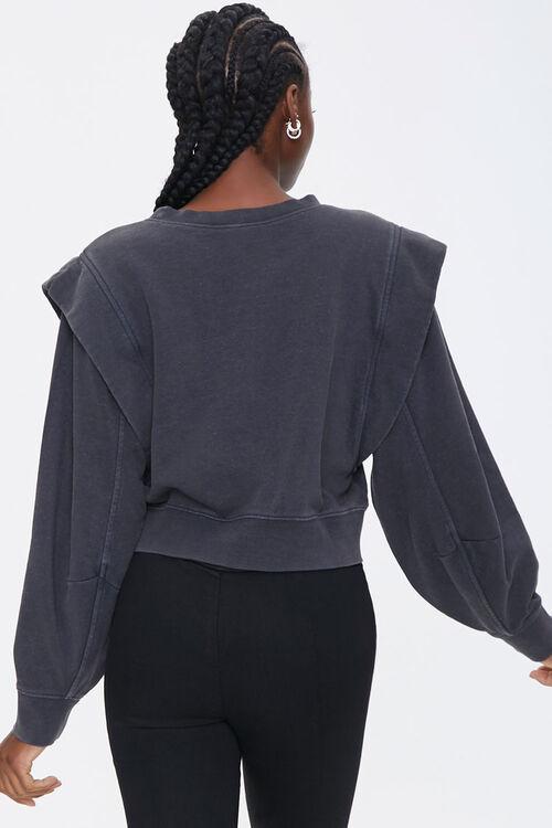 Layered Fleece Sweatshirt, image 3