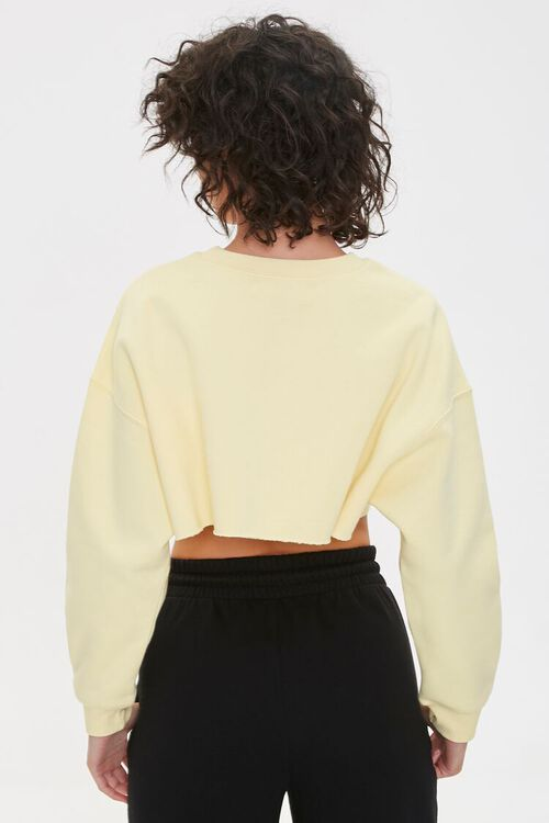Be Loyal To Your Future Cropped Pullover, image 3