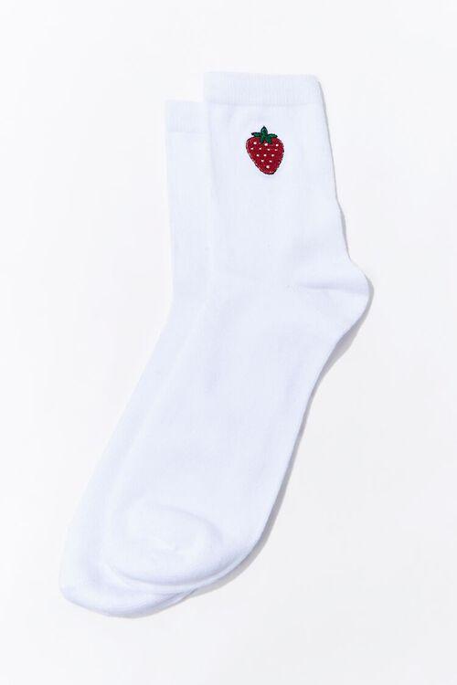 Strawberry Crew Socks, image 2