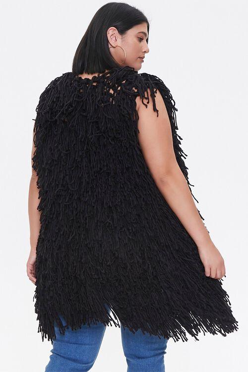 Plus Size Corded Longline Vest, image 3