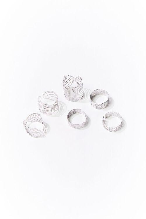 SILVER Filigree Ring Set, image 1