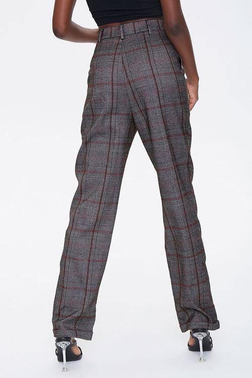 Glen Plaid Cuffed Pants, image 3