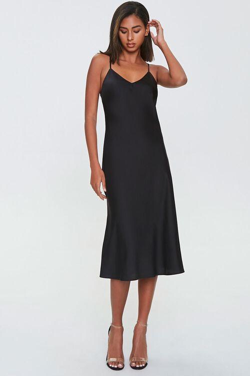 Satin Slip Dress, image 4