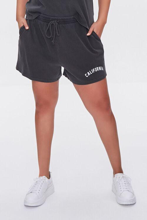 Plus Size California Tee & Shorts Set, image 6