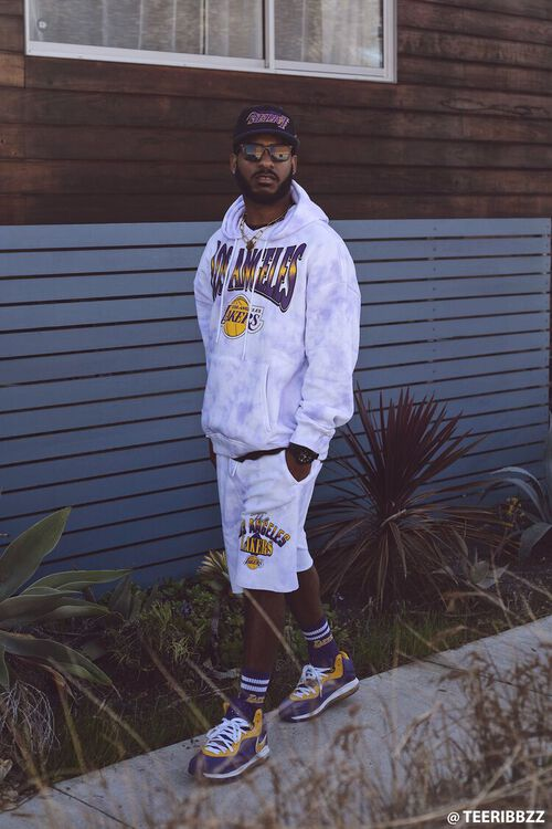 LA Lakers Graphic Shorts, image 1