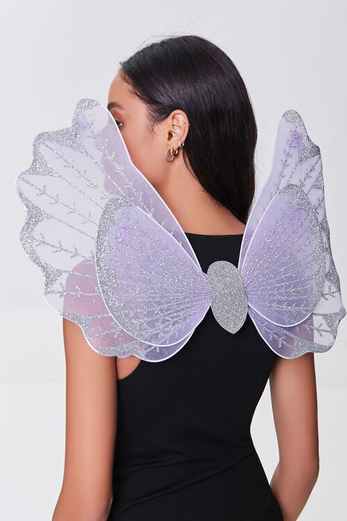 LILAC/MULTI Butterfly Costume Wings, image 1
