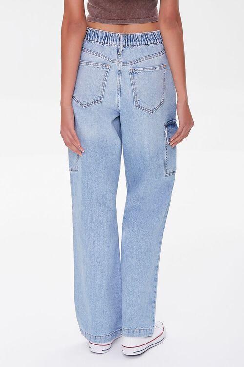 Cargo Straight-Leg Jeans, image 4