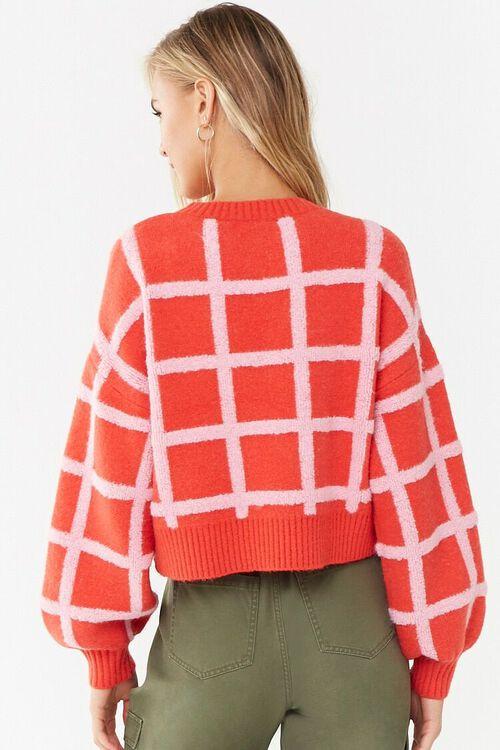Grid Print Sweater, image 3