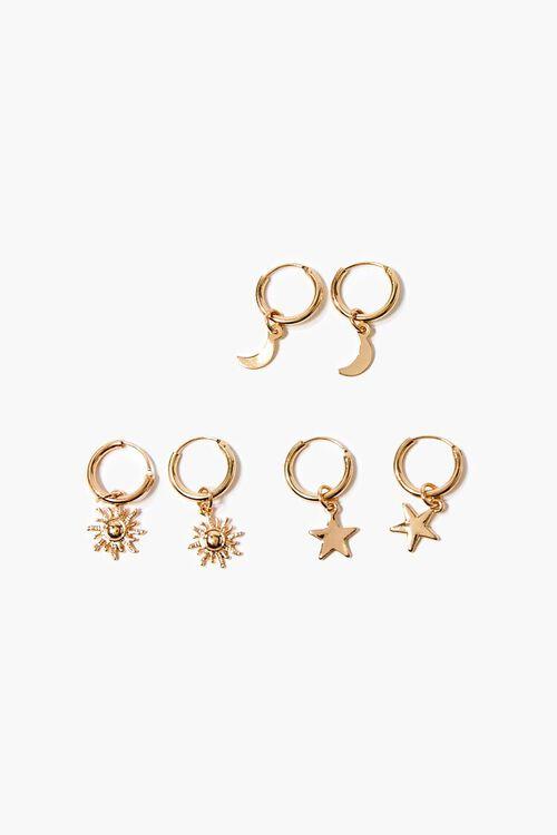 Upcycled Hoop Earring Set, image 1