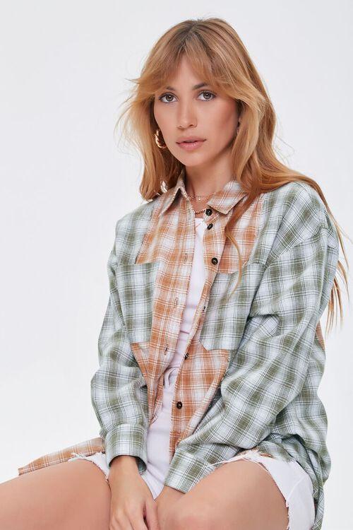 Reworked Plaid Shirt, image 1