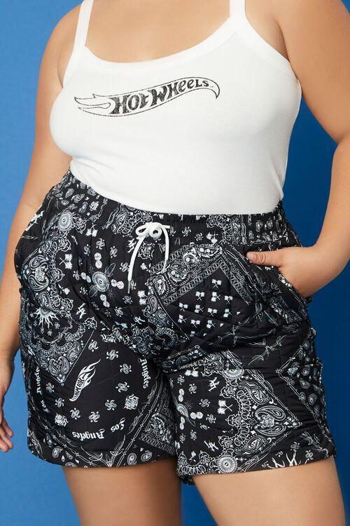 Plus Size Hot Wheels Shorts, image 2