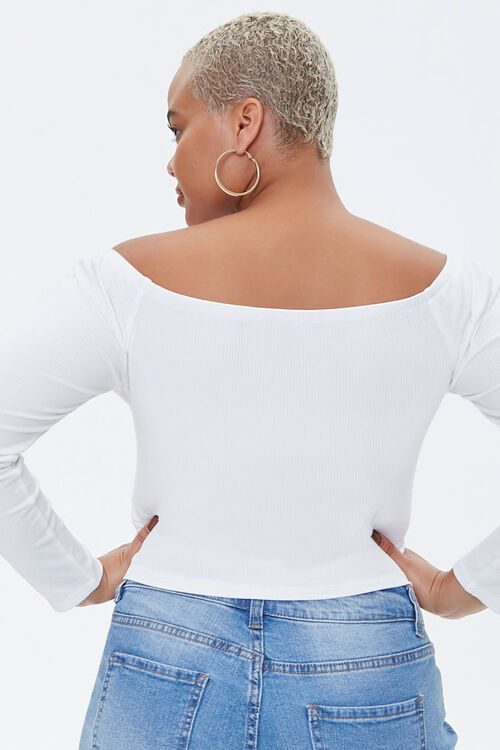 Plus Size Ribbed Tres Chic Top, image 3