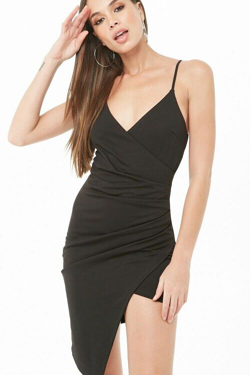 Surplice Cami Dress, image 4
