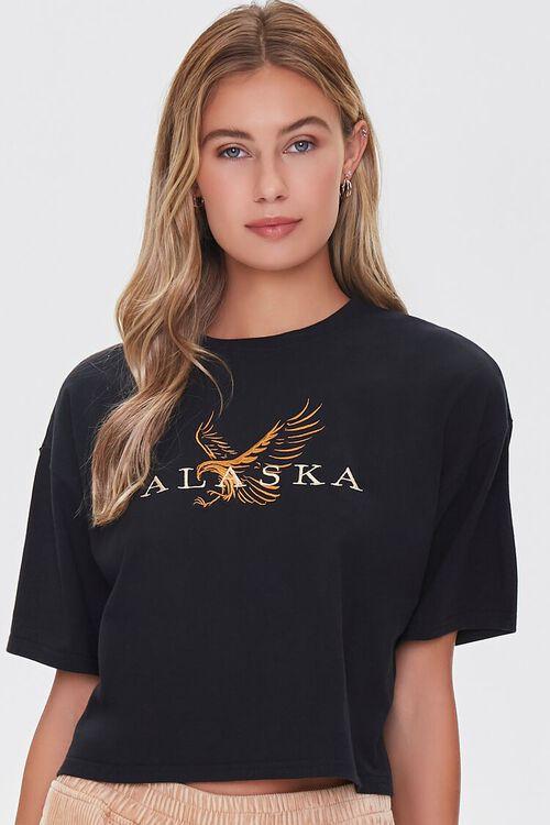 Embroidered Alaska Tee, image 1