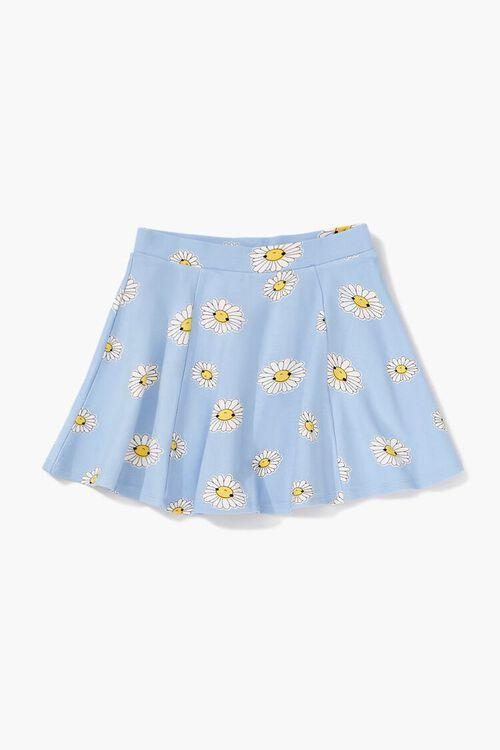 Girls Daisy Print Skirt (Kids), image 2