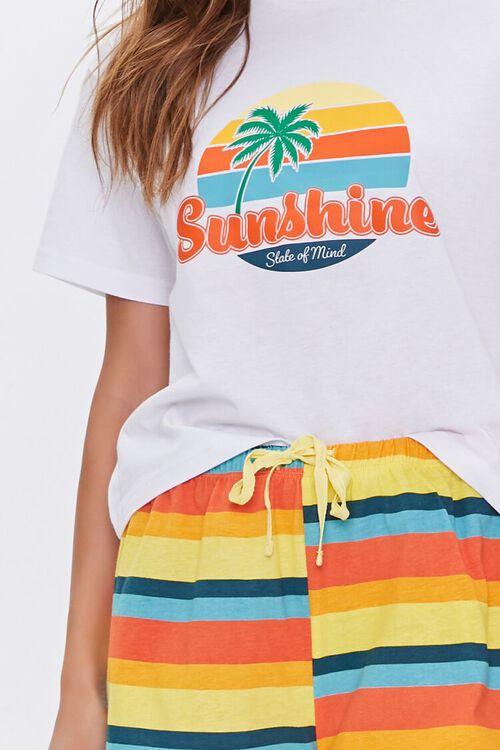 Sunshine Tee & Shorts Lounge Set, image 4