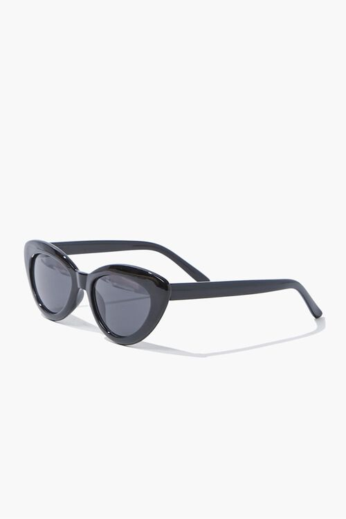 Opaque Cat-Eye Sunglasses, image 3
