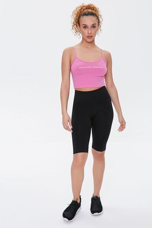 BLACK Active Seamless Biker Shorts, image 5